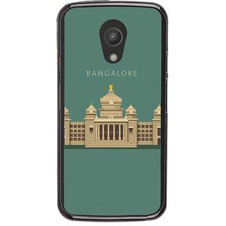 Ayaashii Bangalore Vidhan Sudha Back Case Cover for Motorola Moto G2 X1068::Motorola Moto G (2nd Gen)