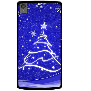 Ayaashii Chirstmas Tree Back Case Cover for One Plus X::One + X