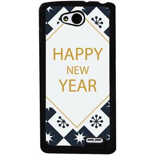 Ayaashii Happy New Year Wishes Back Case Cover for LG L90