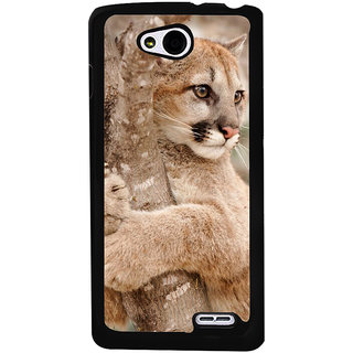 Ayaashii Tiger On Tree Back Case Cover for LG L90