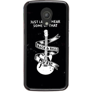 Ayaashii Rock & Roll Music Back Case Cover for Motorola Moto G2 X1068::Motorola Moto G (2nd Gen)