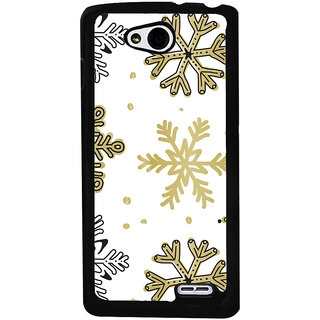 Ayaashii Rangoli Pattern Back Case Cover for LG L90