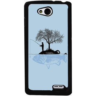 Ayaashii Fisher Man Back Case Cover for LG L90