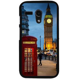 Ayaashii London Tower Back Case Cover for Motorola Moto G X1032::Motorola Moto G (1st Gen)