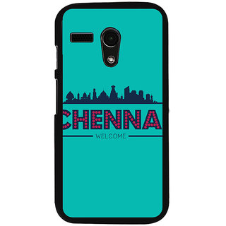 Ayaashii Chennai Welcome Back Case Cover for Motorola Moto G X1032::Motorola Moto G (1st Gen)