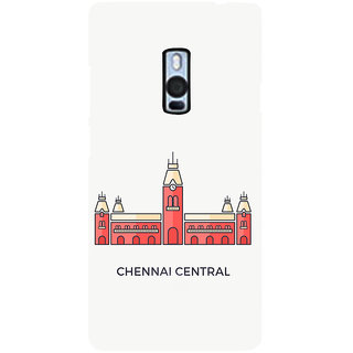 Ayaashii Chennai Central Back Case Cover for One Plus Two::One Plus 2::One+2