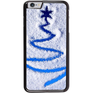 Ayaashii Snow Chirstmas Star Back Case Cover for Apple iPhone 6