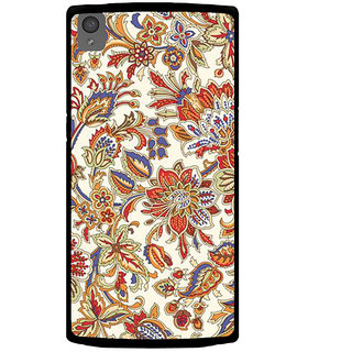 Ayaashii Floral Pattern Back Case Cover for One Plus X::One + X