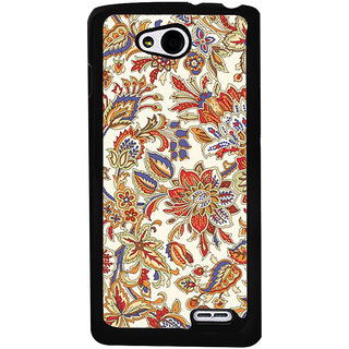 Ayaashii Floral Pattern Back Case Cover for LG L90