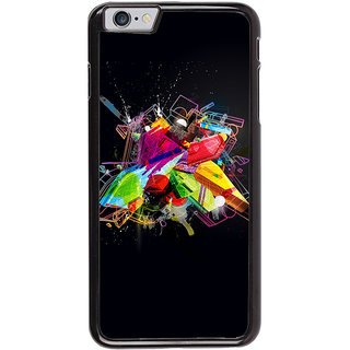 Ayaashii Colorful Illustration Back Case Cover for Apple iPhone 6