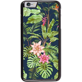 Ayaashii Natural Fancy Leafs Back Case Cover for Apple iPhone 6