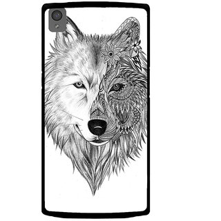 Ayaashii Fox Face Back Case Cover for One Plus X::One + X