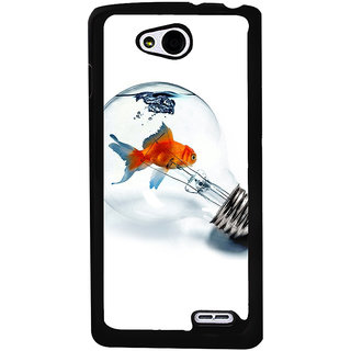 Ayaashii Fish In The Blub Back Case Cover for LG L90