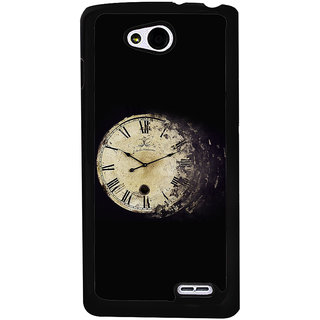 Ayaashii Roman Numbers Clock Back Case Cover for LG L90