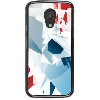 Ayaashii Colorful Abstract Back Case Cover for Motorola Moto G2 X1068::Motorola Moto G (2nd Gen)