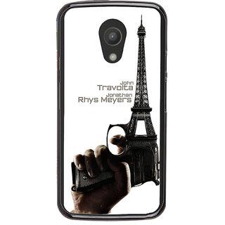 Ayaashii John Travolta Back Case Cover for Motorola Moto G2 X1068::Motorola Moto G (2nd Gen)