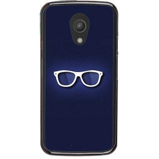 Ayaashii Only Spects Back Case Cover for Motorola Moto G2 X1068::Motorola Moto G (2nd Gen)