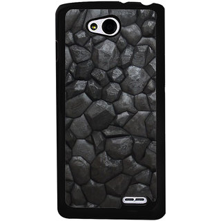 Ayaashii Black Stones Back Case Cover for LG L90