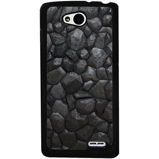 Ayaashii Black Stones Back Case Cover for LG L90