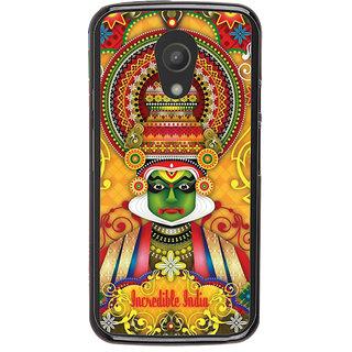 Ayaashii Incredible India Back Case Cover for Motorola Moto G2 X1068::Motorola Moto G (2nd Gen)