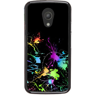 Ayaashii Color Speards Back Case Cover for Motorola Moto G2 X1068::Motorola Moto G (2nd Gen)