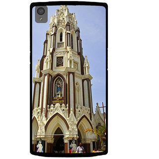 Ayaashii Our Lady Of Church Back Case Cover for One Plus X::One + X