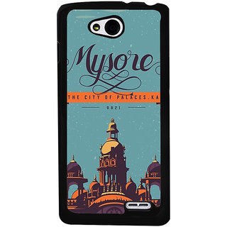 Ayaashii Mysore The City Back Case Cover for LG L90