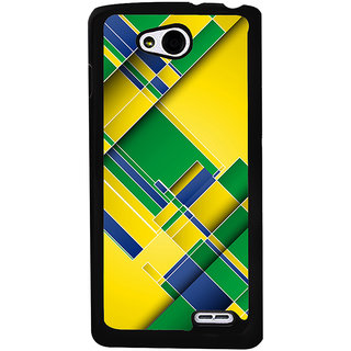 Ayaashii Colorful Abstract Back Case Cover for LG L90