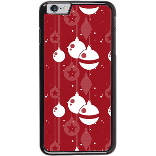 Ayaashii Chirstmas Balls Pattern Back Case Cover for Apple iPhone 6