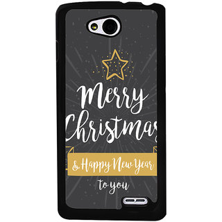 Ayaashii Merry Chirstmas 2 U Back Case Cover for LG L90