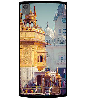 Ayaashii GoldenTemple View Back Case Cover for One Plus X::One + X