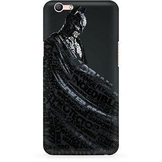 CopyCatz Lettered Dark Knight Premium Printed Case For Oppo F1S