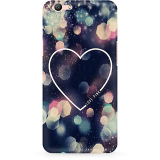 CopyCatz Love Pink Premium Printed Case For Oppo F1S