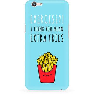 CopyCatz Extra Fries Premium Printed Case For Oppo F1S