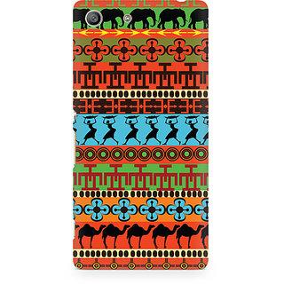 CopyCatz Brown Camel Premium Printed Case For Sony Xperia M5