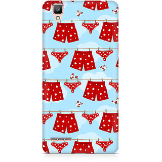CopyCatz Boxers And Panties Premium Printed Case For Oppo F1 Plus