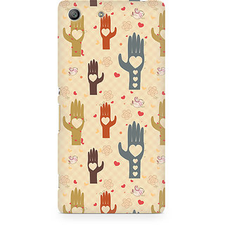 CopyCatz Wafer Chocolate Splash Premium Printed Case For Sony Xperia M5