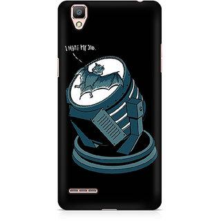CopyCatz Bat Signal Bat Premium Printed Case For Oppo F1