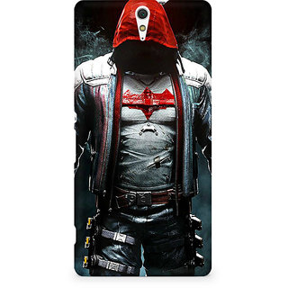 CopyCatz Red Eyed Batman Premium Printed Case For Sony Xperia C5