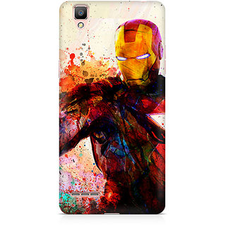 CopyCatz Iron Man Premium Printed Case For Oppo F1