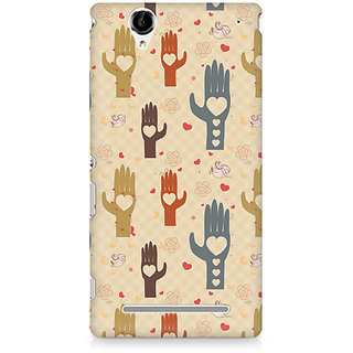 CopyCatz Wafer Chocolate Splash Premium Printed Case For Sony Xperia T2