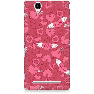 CopyCatz Panties And Strawberry Premium Printed Case For Sony Xperia T2