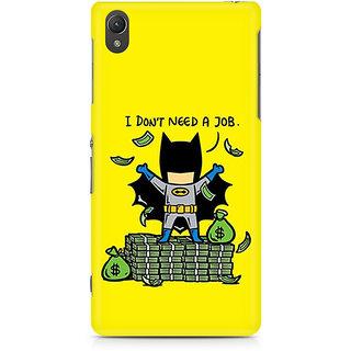 CopyCatz Batman Caricature Premium Printed Case For Sony Xperia Z2 L50W