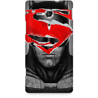 CopyCatz Batman Red Logo Premium Printed Case For Sony Xperia SP M35H