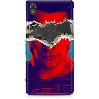 CopyCatz Superman Abstract Premium Printed Case For Sony Xperia Z2 L50W
