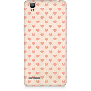 CopyCatz Vintage Heart Premium Printed Case For Oppo F1 Plus