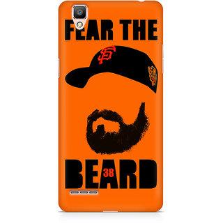 CopyCatz Fear The Beard Bud Premium Printed Case For Oppo F1