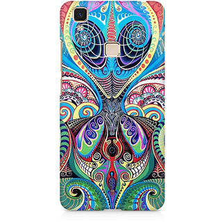 CopyCatz Plus Premium Printed Case For Vivo V3 Max