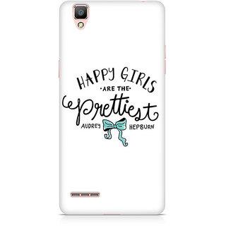 CopyCatz Happy Girls Premium Printed Case For Oppo F1