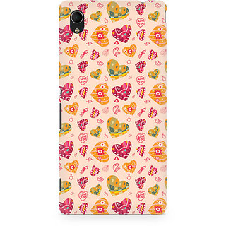 CopyCatz Be My Valentine Premium Printed Case For Sony Xperia M4